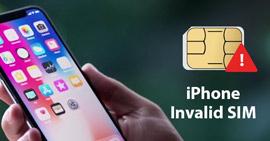 Sim non valida per iPhone