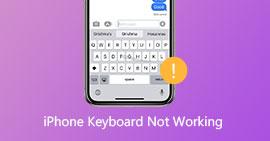 Oprava klávesnice iPhone nefunguje