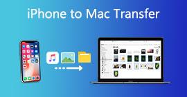 Καλύτερη μεταφορά iPhone σε Mac