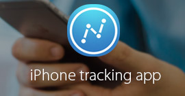 iPhone Tracking App