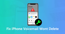 Fix Voicemail Won't Delete