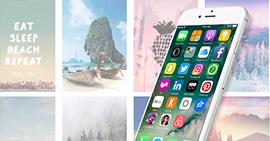 Scarica / Put / Cambia lo sfondo dell'iPhone