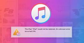 Chyba iTunes 14