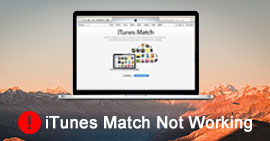 Fix iTunes Match Not Working