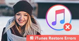 iTunes Ripristina gli errori