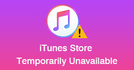 iTunes Store Is Temporarily Unavailable