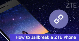 eseguire il jailbreak di un telefono ZTE