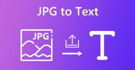 Converti JPG in testo