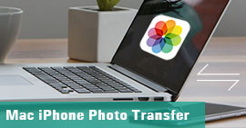 Trasferisci le foto di iPhone su Mac