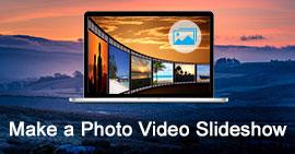 Crea una presentazione fotografica