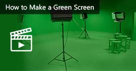 Crea uno schermo verde