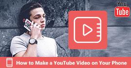 Δημιουργήστε ένα βίντεο YouTube στο τηλέφωνό σας