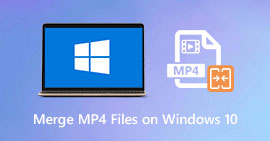 Combina file video MP4 su PC