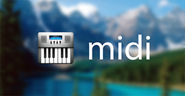 Play and Convert MIDI File