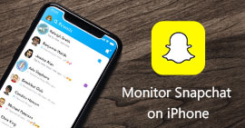 Monitor Snapchat on iPhone