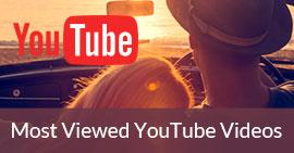 觀看最多的YouTube視頻