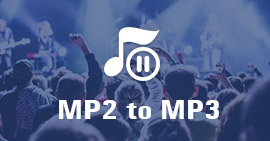 Convert MP2 to MP3