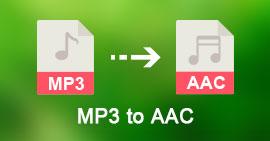 MP3 do AAC