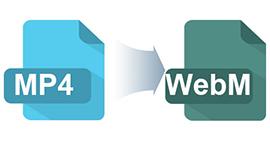 Come convertire MP4 in WebM