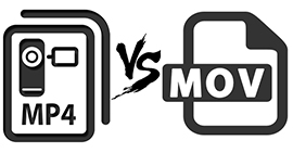 The Comparison between MP4 and MOV