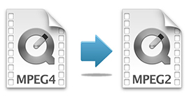 How to Convert MPEG4 to MPEG2