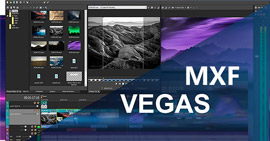 Converti video MXF in Sony Vegas