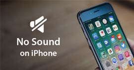 Non c'è audio su iPhone