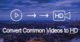 Converti video comuni in HD