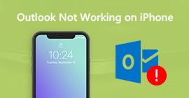Oprava Outlook Mail nefunguje na iPhone
