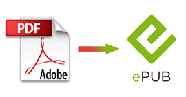 Convert PDF eBooks to ePub