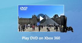 Αναπαραγωγή DVD στο Xbox 360