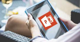 Παίξτε ένα PowerPoint στο iPad