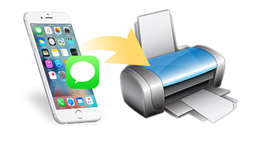 View and Print Messages from iPhone