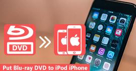 Inserisci i film Blu-ray DVD su iPhone o iPod