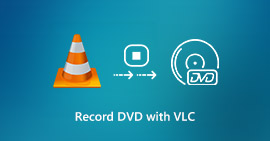 Record DVD with VLC