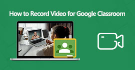 Εγγραφή βίντεο για το Google Classroom