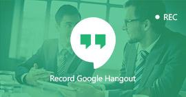 Registra Google Hangouts