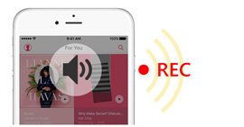 Registra audio per iPhone