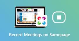 Nagrywaj spotkania na stronie Sam page