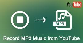 Neem MP3 MP4 op van YouTube