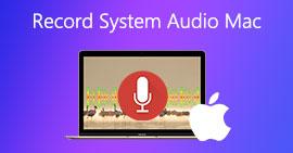 Registra l'audio del sistema Mac