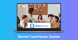 Record TeamViewer Meeting Session