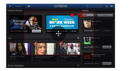 Registra video Ustream