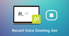 Record Voice Greeting for Jive