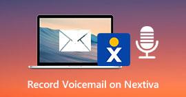 Εγγραφή φωνητικού ταχυδρομείου στο Nextiva