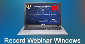Record a Webinar on Windows