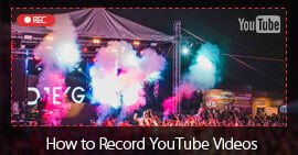 Registra video di YouTube
