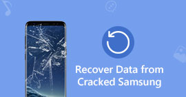 Recover Cracked Data from Samsung