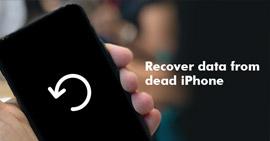 Recupera i dati dall'iPhone morto