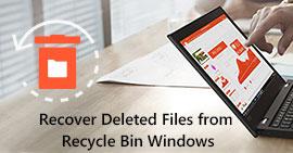 Odzyskaj usunięte pliki z okien kosza